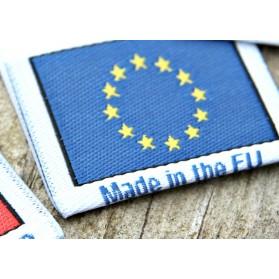 """Etiketten """"In Europa..."""