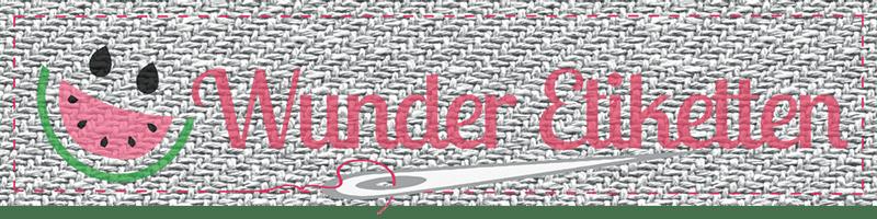 Wunderetiketten logo